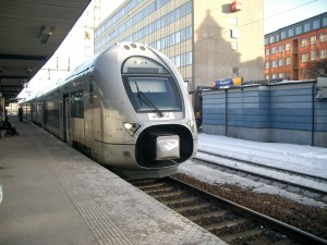 tåg i Västerås